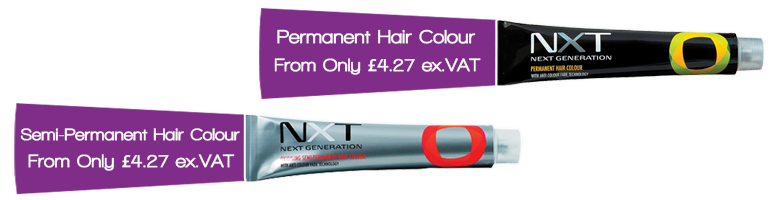 NXT Permanent & Semi-Permanent Hair Colour | Wholesale