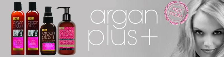 Argan Plus Shampoo, Conditioner & Treatments