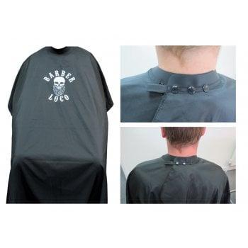 Agenda Barber Loco Neoprene Collar Gown Black