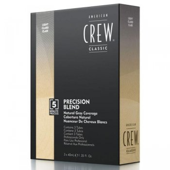 American Crew Precision Blend Colour Medium Ash 5/6 3x40ml