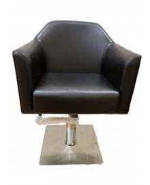 Elite Beauty Salon Hydraulic Hairdressing Chair Black