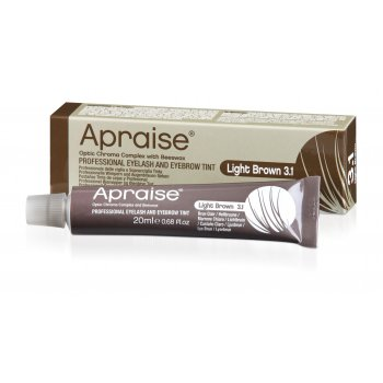 Apraise Light Brown Eyelash Tint 3.1