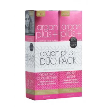 Argan Plus Duo Pack Shampoo and Conditioner 236ml
