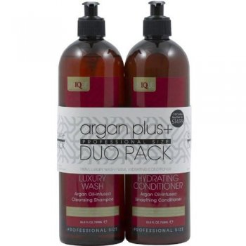 Argan Plus Professional Size Shampoo and Conditioner Duo Pack