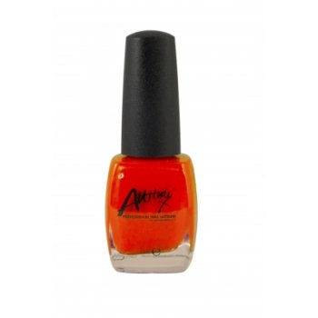 Attitude Fluorescent Orange Nail Polish