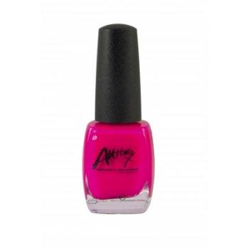 Attitude Fluorescent Pink Nail Polish