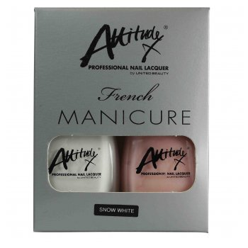 Attitude French Manicure Set Snow White