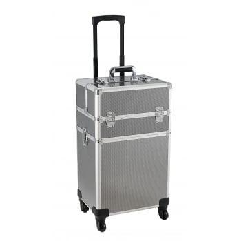 Avec Beauty Box Metallic Silver Large