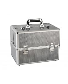 Beauty Box Metallic Silver Medium