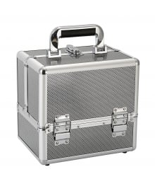 Beauty Box Metallic Silver Small