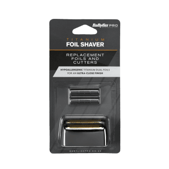Babyliss Pro Cordless Dual Foil Shaver Replacement Foils And Cutters
