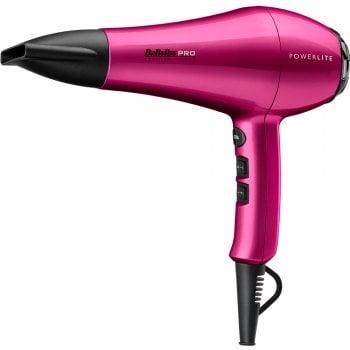 Babyliss Pro Powerlite Hair Dryer Hot Pink 1900w