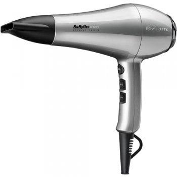 Babyliss Pro Powerlite Hair Dryer Silver 1900w