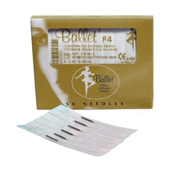 Ballet Gold Needles F4
