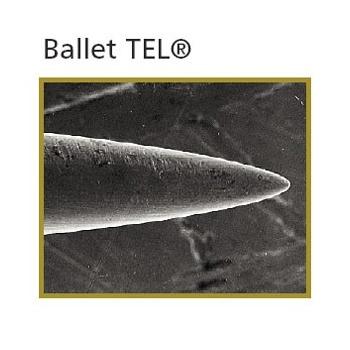 Ballet Tel Red Vein Gold Needles F3