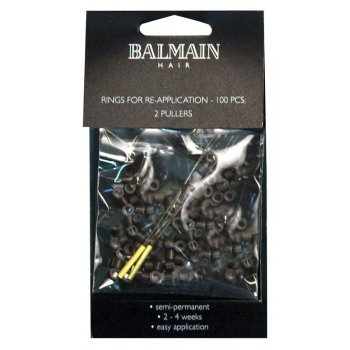 Balmain Brown Soft Rings 100pk