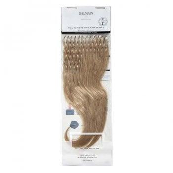 Balmain Micro Ring Fill-Ins Human Hair Extensions 40cm 10A