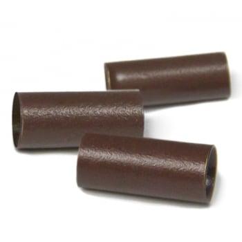 Balmain Micro Rings Brown x 100
