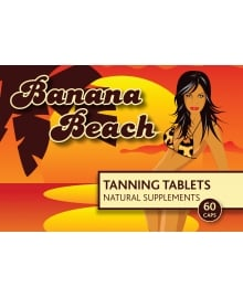 Banana Beach Tanning Tablets x 60