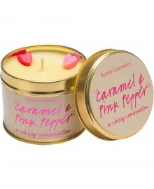 Caramel & Pink Pepper Tin Candle