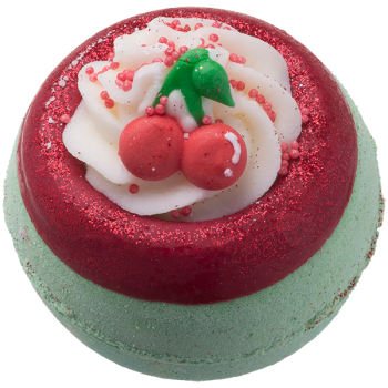 Bomb Cosmetics Cherry On Top Bath Bomb