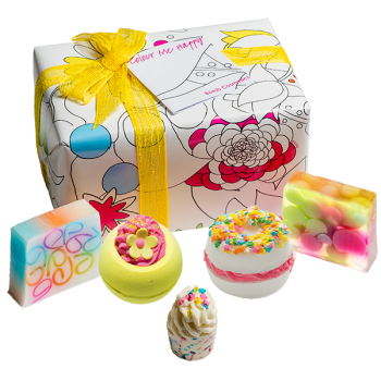 Bomb Cosmetics Colour Me Happy Gift Pack