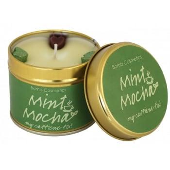 Bomb Cosmetics Mint Mocha Tin Candle