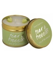 Pear & Freesia Tin Candle