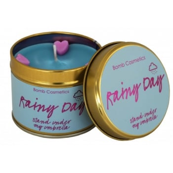 Bomb Cosmetics Rainy Day Tin Candle