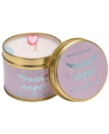 Snow Angel Tin Candle