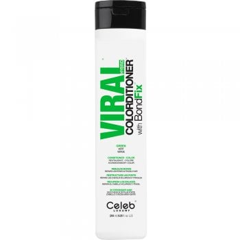 Celeb Luxury Viral Green Colourditioner with Bond Fix 244ml