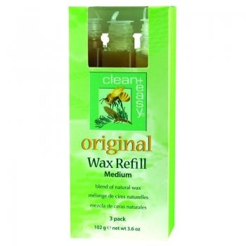 Clean + Easy Original Wax Refill Medium 102g x 3