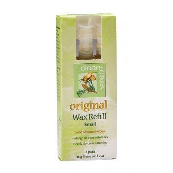 Clean + Easy Original Wax Refill Small 34g x 3