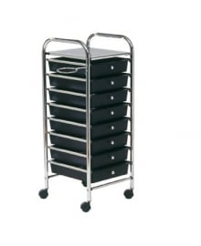 Storage Trolley Black