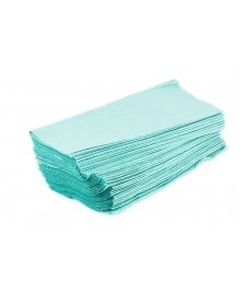 C Fold 1-Ply Disposable Hand Towel Green x 2880