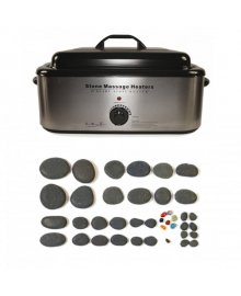 Hot Stone 18 Quart Heater 40 Piece Set