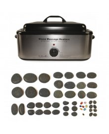 Hot Stone 18 Quart Heater 50 Piece Set