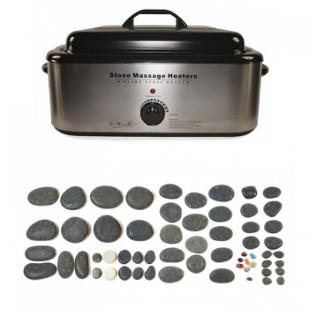 Dennis Williams Hot Stone 18 Quart Heater 60 Piece Set
