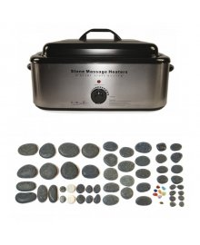 Hot Stone 18 Quart Heater 60 Piece Set