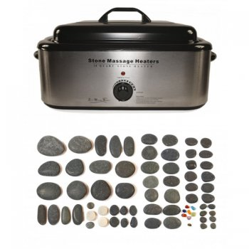 Dennis Williams Hot Stone 18 Quart Heater 70 Piece Set