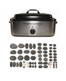 Hot Stone 18 Quart Heater 70 Piece Set