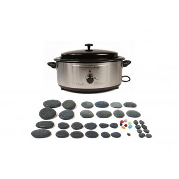 Dennis Williams Hot Stone 6 Quart Heater 40 Piece Set