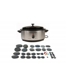 Hot Stone 6 Quart Heater 40 Piece Set