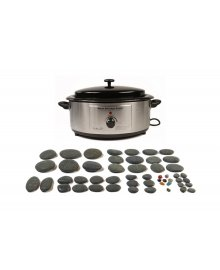Hot Stone 6 Quart Heater 50 Piece Set