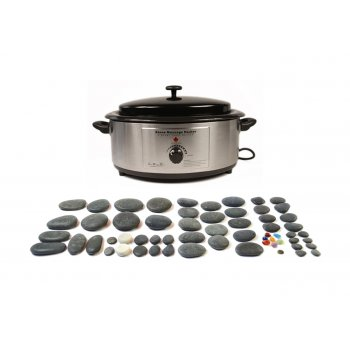Dennis Williams Hot Stone 6 Quart Heater 60 Piece Set