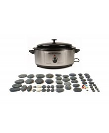 Hot Stone 6 Quart Heater 60 Piece Set