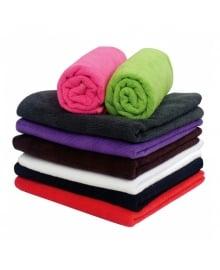 Microfibre Hot Pink Towel Dozen 45cm x 85cm