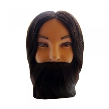 Dennis Williams Nathan 12 Inch Gents Training Head with Beard