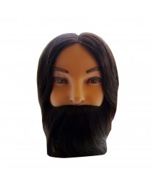 Nathan 12 Inch Gents Training Head with Beard