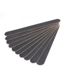 Superfine Black Nail Files x 10